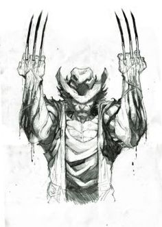 Wolverine // penciled sketch by Dexter Soy ComicsForever on This (Watermarked) Art: Man I sure do hate watermarks, they are often used in some of the best artwork I find (also in some of the worst) with the lame excuse of protecting. Wolverine Tattoo, Wolverine Art, Logan Wolverine, Wolverine Movie, Batman Tattoo, Arte Dc Comics, Marvel Comics Art, Marvel Heroes, Comic Book Characters