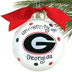 Uga Christmas Ornaments