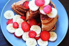Kuvahaun tulos haulle herkut Pancakes, French Toast, Breakfast, Food, Morning Coffee, Eten, Meals, Pancake, Morning Breakfast