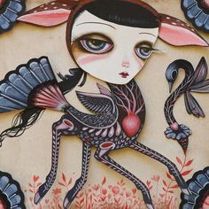 I LOVE #beautifulbizarre Issue 003 featured artist The Artwork of Jennybird Alcantara All back issues of beautiful.bizarre are available in print or digital via our online store: www.beautifulbizarre.net/shop