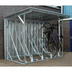 Best bike storage shed bicycle rack 42 ideas Bicycle Storage Shed, Outdoor Bike Storage, Bike Storage Rack, Bicycle Rack, Old Bicycle, Bike Shed, Bench With Shoe Storage, Safe Storage, Storage Sheds