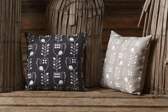 Aapiste - Design by Riikka Kaartilanmäki Blueberry, Rooster, Cushion, Throw Pillows, Traditional, Prints, Collection, Design, Berry