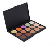 Pure Vieå¨ Pro 15 Colors Cream Concealer Camouflage Makeup Palette Contouring Kit for Salon and Daily Use >>> This is an Amazon Affiliate link. You can find more details by visiting the image link.