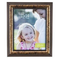 "Hobby Lobby Wall Frames green tree gallery 11"" x 14"" bronze wall frame with acanthus"