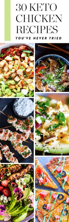 30 Keto Chicken Recipes You've Never Tried #purewow #cooking #chicken #food #dinner #recipe #easy #ketogenic