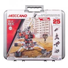 Meccano Erector Super Construction 25 in 1 Building Set 638 Parts for Ages 10 S for sale online Model Building Kits, Building Toys, Bus City, Lego Halloween, Toy Sale, Construction, Ebay, Toy Toy, Kids