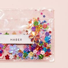 sparkle card holder - ban.do