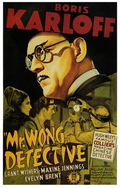 Mr Wong, Detective 1938 Boris #Karloff