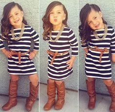 14 Super Cute Stylish Little Girls This is so adorable❤