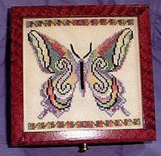 Free cross stitch and counted thread pattern from Caron.