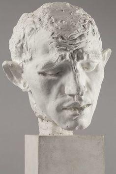 Auguste Rodin / Pierre de Wissant , tête type C (Pierre de Wissant, type C head) c.1885-1886, Musée Rodin -