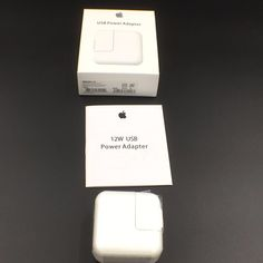 OEM Genuine Original Apple iPad2 3 4 iPad air 12W USB Power Adapter Wall Charger…