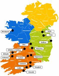 Irish Heritage Towns/ I will visit them soon