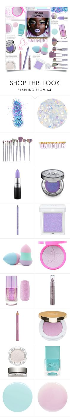 """UniQueen"" by mmk2k ❤ liked on Polyvore featuring beauty, In Your Dreams, Essie, Trixy Starr, Lime Crime, MAC Cosmetics, Urban Decay, RMK, Forever 21 and Estée Lauder"