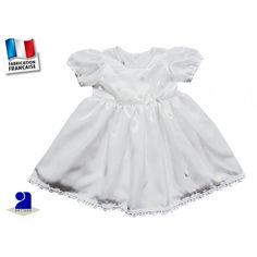 Robe blanche petite fleur