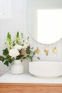 My Bathroom Reno Timeline + Budget — Adore Home Magazine Bathroom Renos, Bathroom Interior, Modern Bathroom, Small Bathroom, Master Bathroom, Downstairs Bathroom, Washroom, Bathroom Remodeling, Beautiful Bathrooms