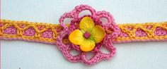 19 Free Crochet Jewelry Patterns You Should Check Out: Free Crochet Pattern for a Flower Necklace