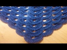 ▶ Chal crochet facil - YouTube