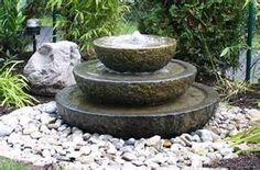Marvelous Outdoor Wall Fountains #11 - Stone Garden Water Fountains Outdoor