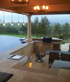 pool with outdoor kitchen epic our september 2012 aqua choice winner has gorgeous outdoor kitchen with travertine paver flooring 47 best pools kitchens images on pinterest dream