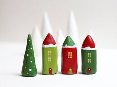 http://www.etsy.com/listing/86115331/christmas-clay-houses-little-winter