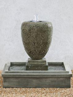 Longwood Arabesque Fountain - Garden Fountains & Outdoor Decor