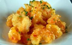 spicy rock shrimp tempura