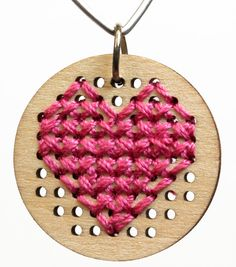 DIY Heart Pendant wi