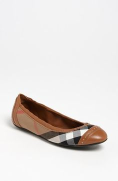 Burberry 'Southwark' Flat available at #Nordstrom