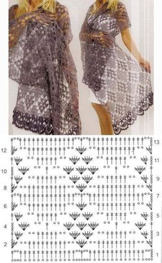 Beautiful chart crochet pattern that is FREE! Crochet Patterns Scarf Crochet stitch with graphic This Pin was discovered by Rie Crochet Patterns Poncho The Shawl By The Hook Lecture d'un message - mail Ormy favorites knit hook 18 crochet FREE Crochet Crochet Lace Scarf, Crochet Shawls And Wraps, Crochet Scarves, Crochet Clothes, Crochet Stitches, Crochet Hats, Lace Shawls, Hand Crochet, Mode Crochet