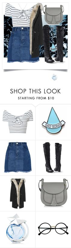 """running with the wolves"" by telepathic-hearts ❤ liked on Polyvore featuring Miss Selfridge, Stay Home Club, Venus, Woolrich, Le Parmentier, Thierry Mugler, Retrò and Links of London"