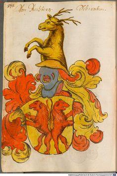 Scheibler'sches Wappenbuch Süddeutschland, um 1450 - 17. Jh. Cod.icon. 312 c Folio 572