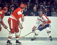 Gordie Howe Hockey Teams, Hockey Players, Ice Hockey, Hockey Stuff, Canada Cup, Summit Series, Vancouver Canucks, National Hockey League, Detroit Red Wings