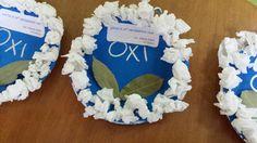 28Η Οκτωβρίου Kindergarten Crafts, Preschool, 28th October, Hanukkah, Greek, Decor, Decoration, Greek Language, Dekoration