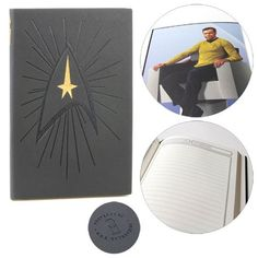 Star Trek: The Original Series Captain's Log Journal - The Coop - Star Trek - Journals at Entertainment Earth