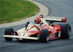 Niki Lauda in the 1976 Ferrari 312T2 - in my view Niki remains the greatest F1 driver of the more modern era (Fangio being the all-time greatest)