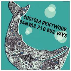 Custom Driftwood Art/ Custom Driftwood by LeftCoastOriginals
