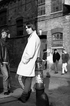 Oasis in East London [1994].