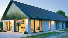 Stodom(a) - nowoczesny dom w Wadowicach zaprojektowany na wzór tradycyjnej stodoły