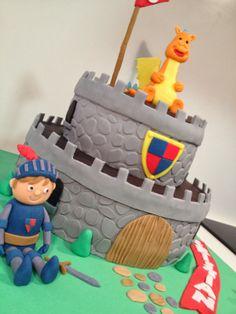 Tarta castillo medieval // Medieval castle cake