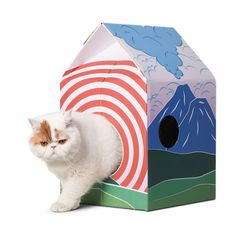 The Ultimate Retreat for Your Pets. Spoil All Your Pets with Our Daily Gifts! Up to 30% Off Pet Supplies Cardboard Cat House, Milk Box, Cat Scratcher, Online Pet Supplies, Kawaii Cat, Litter Box, Camcorder, Cat Love, In This World