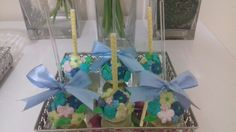 Cakepops jardim flores borboletas!!!