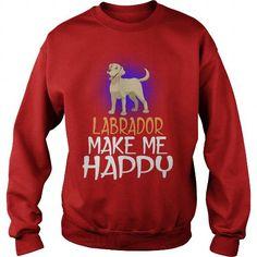 My Labrador Retriever Dog Make Me Happy