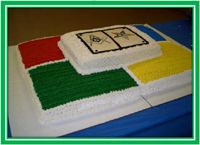 Eastern star cake | eastern star masonic cake custom made for eastern star mason s feeds ...