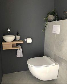 Home Interior Diy 65 Inspirational Ideas To Design A Guest Toilet 65 Inspirational Ideas To Design A Guest Toilet.Home Interior Diy 65 Inspirational Ideas To Design A Guest Toilet 65 Inspirational Ideas To Design A Guest Toilet Small Toilet Design, Small Toilet Room, Guest Toilet, Downstairs Toilet, Bathroom Layout, Bathroom Interior, Modern Bathroom, Small Bathroom, Bathroom Ideas