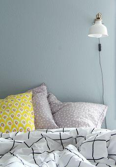 Tikkurila-arvonnan voittaja / Giveaway winner Bed Pillows, Pillows, Pillow Cases, Bed, Bedroom Interior, Home, Interior, Throw Pillows, Color Inspiration