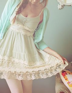 Longer dress=perfect. Get me this now.