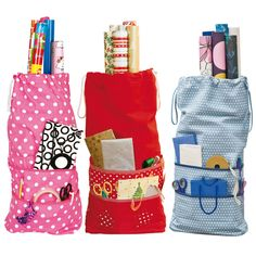 Wrapping Paper Storage Bags!