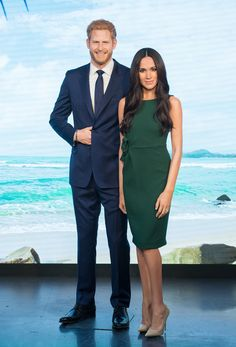 Meghan Markles Wax Figure Makes Her Debut at Madame Tussauds London