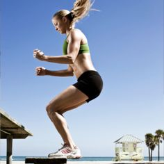 Add some spring to your step with this plyometric workout!